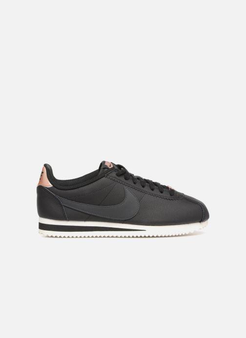 Sneaker Nike Wmns Classic Cortez Leather schwarz ansicht von hinten
