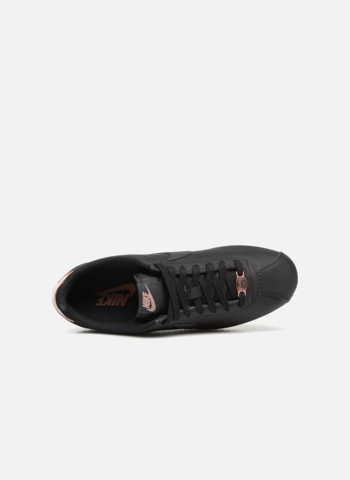 Sneakers Nike Wmns Classic Cortez Leather Nero immagine sinistra