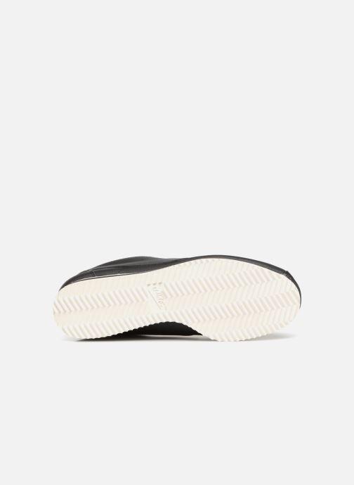 Sneaker Nike Wmns Classic Cortez Leather schwarz ansicht von oben