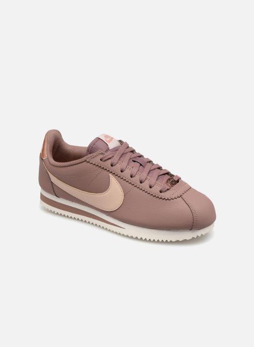 376fe53f49d Nike Wmns Classic Cortez Leather (Pink) - Trainers chez Sarenza (347064)