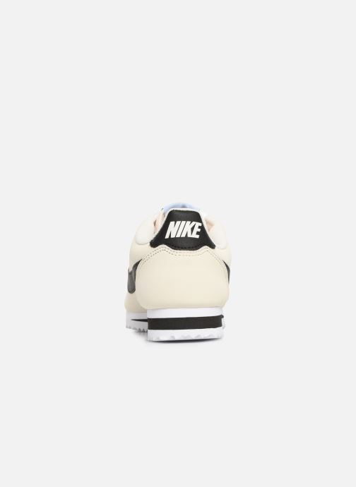 Deportivas Nike Wmns Classic Cortez Leather Blanco vista lateral derecha