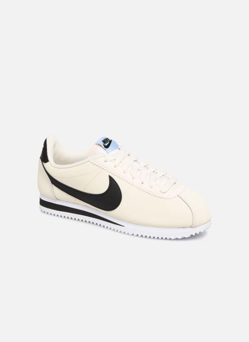 9c79820b7b1d04 Sneaker Nike Wmns Classic Cortez Leather weiß detaillierte ansicht modell