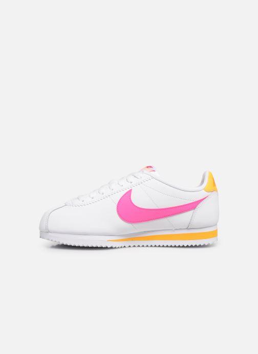 a486c6cba95 Nike Wmns Classic Cortez Leather (Wit) - Sneakers chez Sarenza (374599)