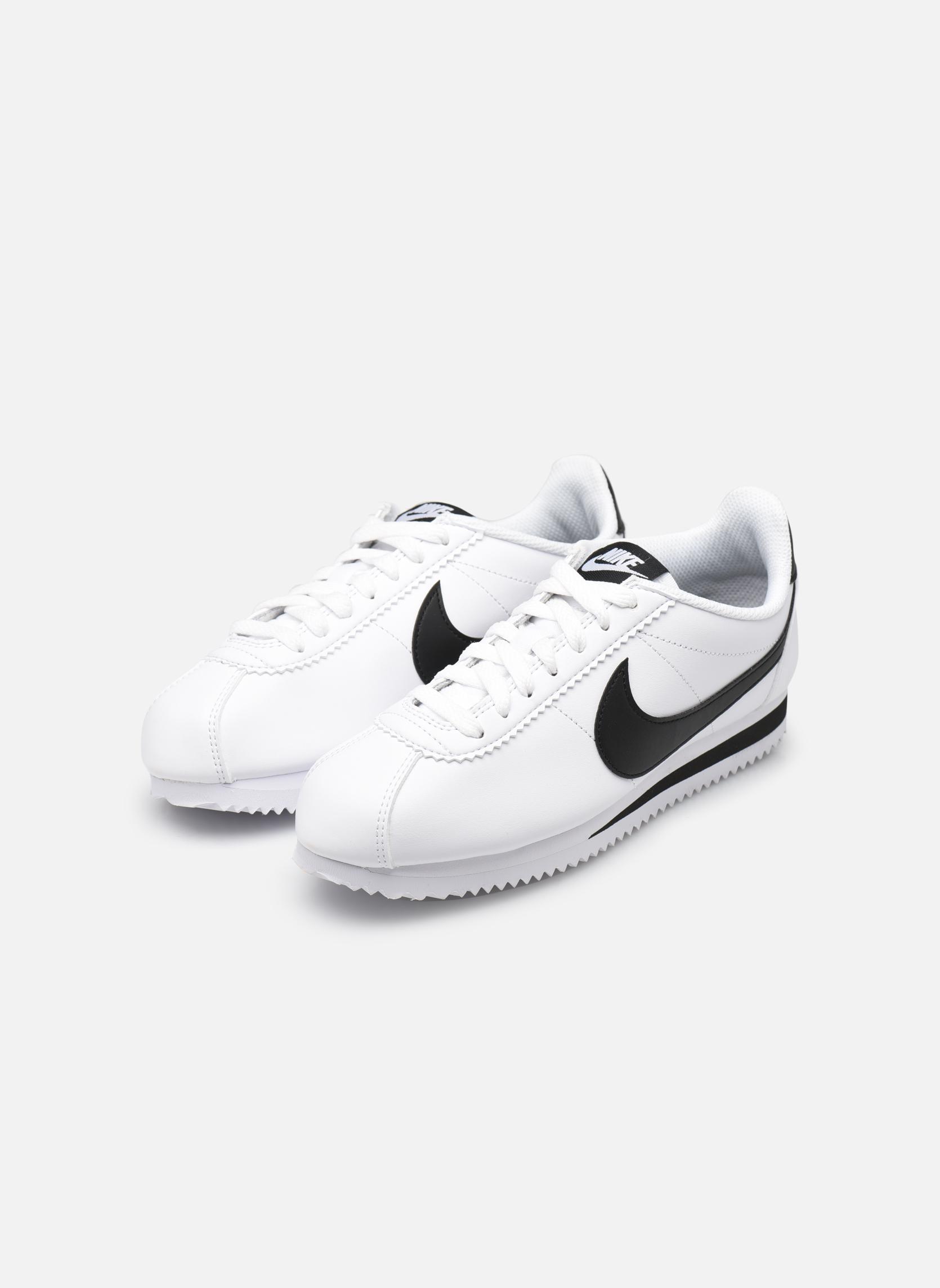 Sneakers Nike Wmns Classic Cortez Leather Vit bild från under
