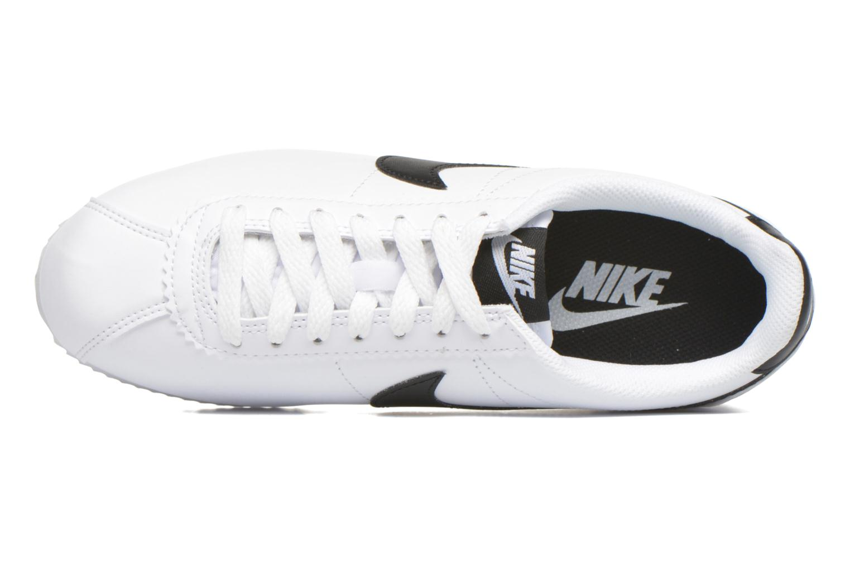 Sneakers Nike Wmns Classic Cortez Leather Vit bild från vänster sidan