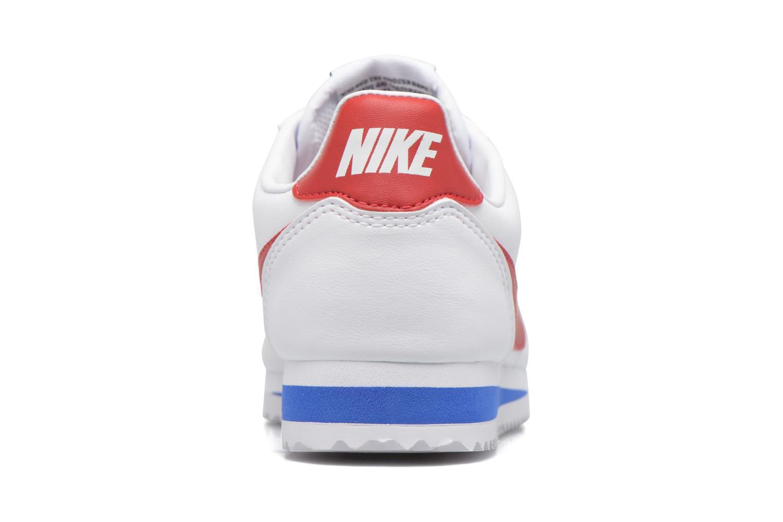 Sneakers Nike Wmns Classic Cortez Leather Vit Bild från höger sidan