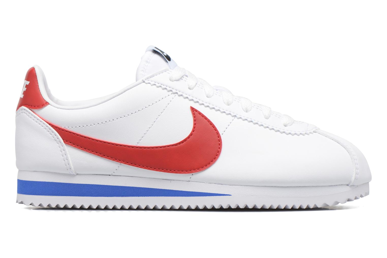 Sneakers Nike Wmns Classic Cortez Leather Vit bild från baksidan