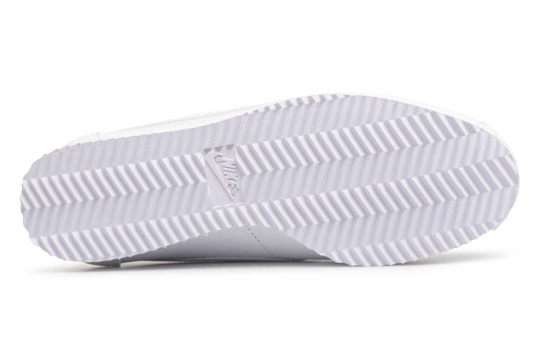 Baskets Nike Wmns Classic Cortez Leather Blanc vue haut