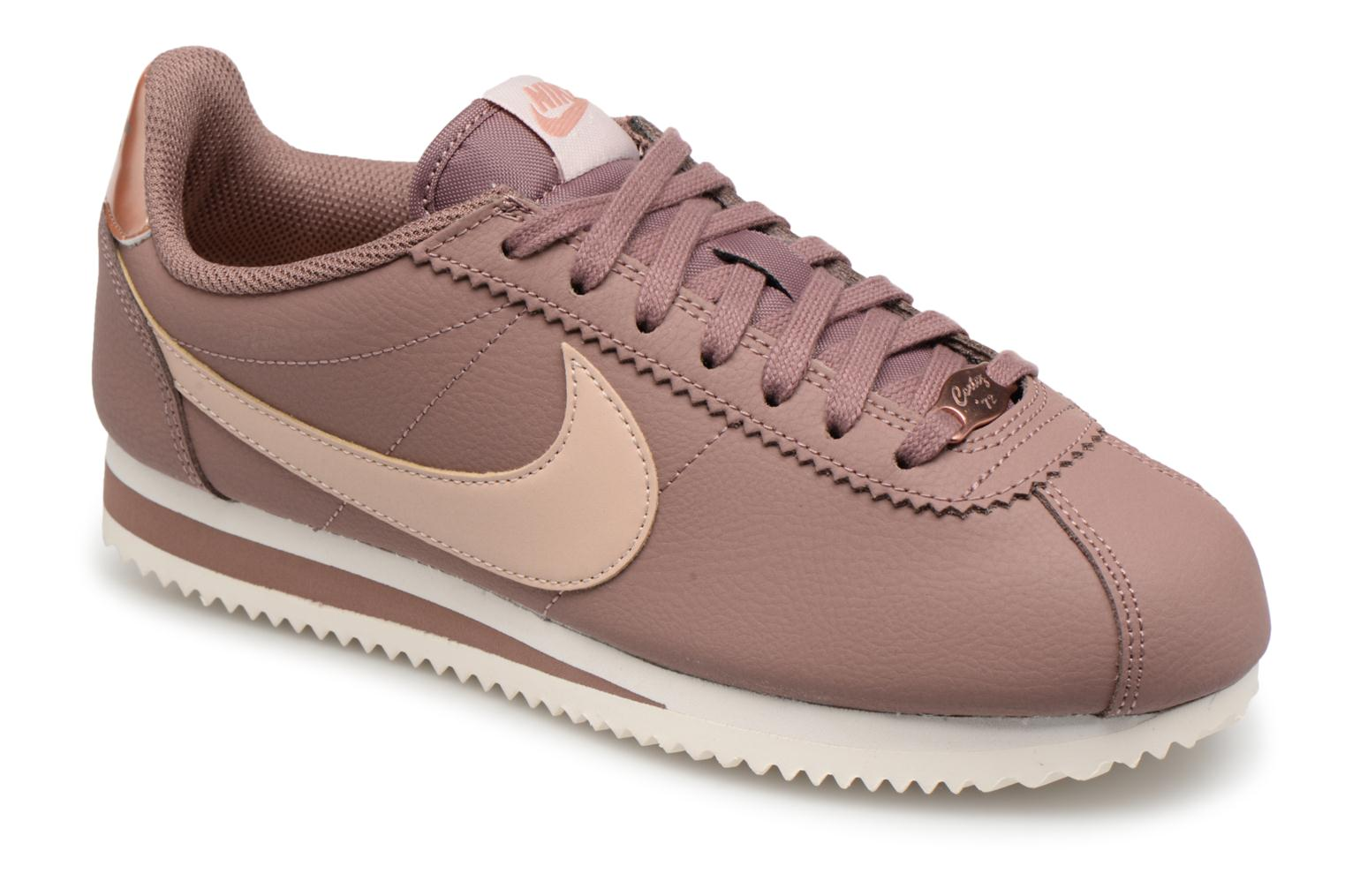 finest selection fcc2b 70854 Nike Wmns Classic Cortez Leather (Blanc) - Baskets chez Sarenza (280927)