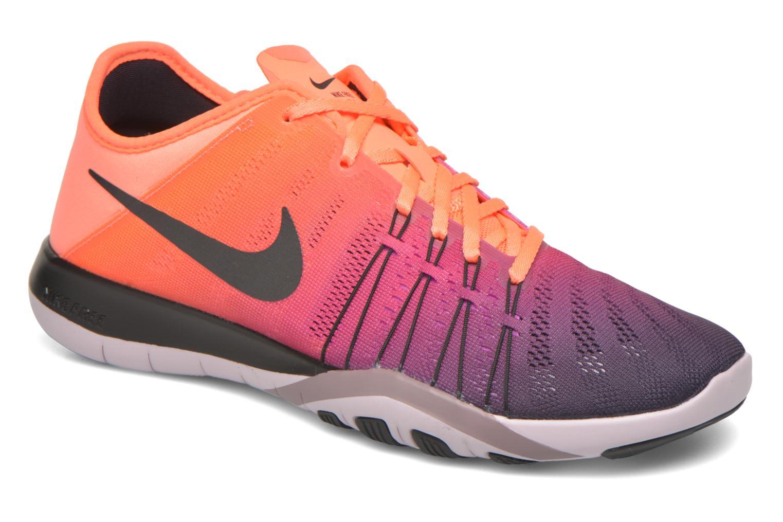 Chaussures de sport Nike Wmns Nike Free Tr 6 Spctrm Orange vue détail/paire