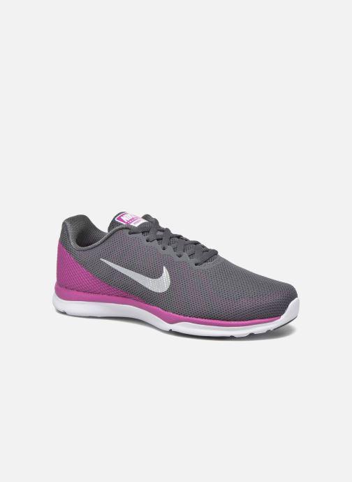 Chaussures de sport Nike Wmns Nike In-Season Tr 6 Gris vue détail paire f3c9f2782e8