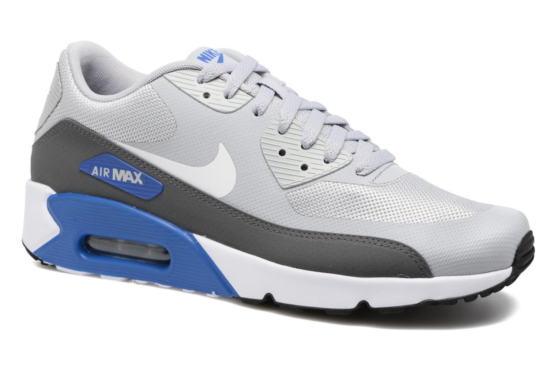Deportivas Nike Air Max 90 Ultra 2.0 Essential Gris vista de detalle / par
