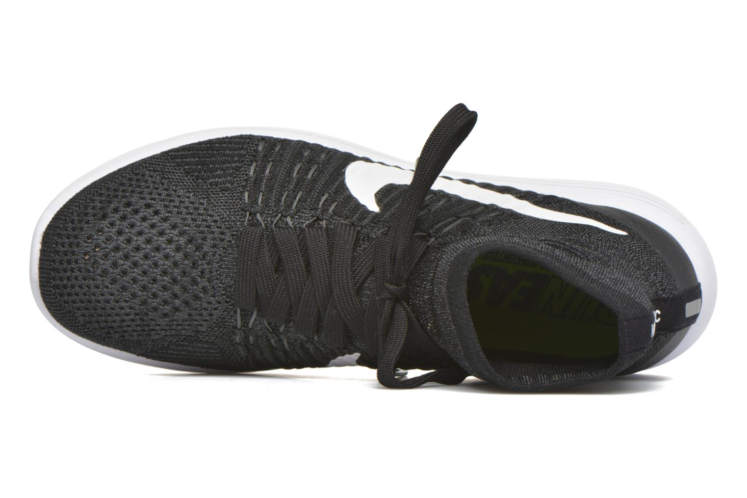 Sport shoes Nike Nike Lunarepic Flyknit Black view from the left
