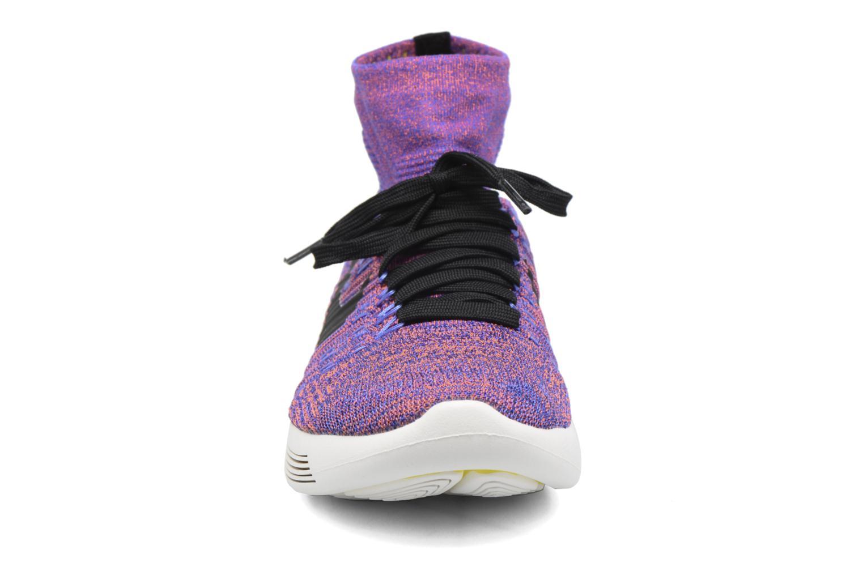 Sportschuhe Nike Nike Lunarepic Flyknit blau schuhe getragen