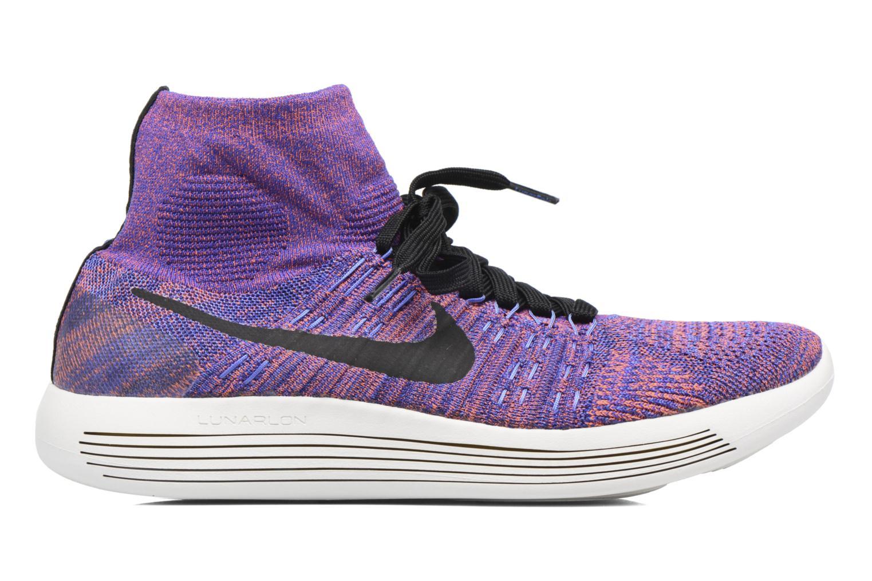 Sportschuhe Nike Nike Lunarepic Flyknit blau ansicht von hinten