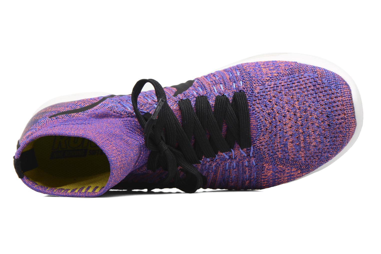 Sportschuhe Nike Nike Lunarepic Flyknit blau ansicht von links