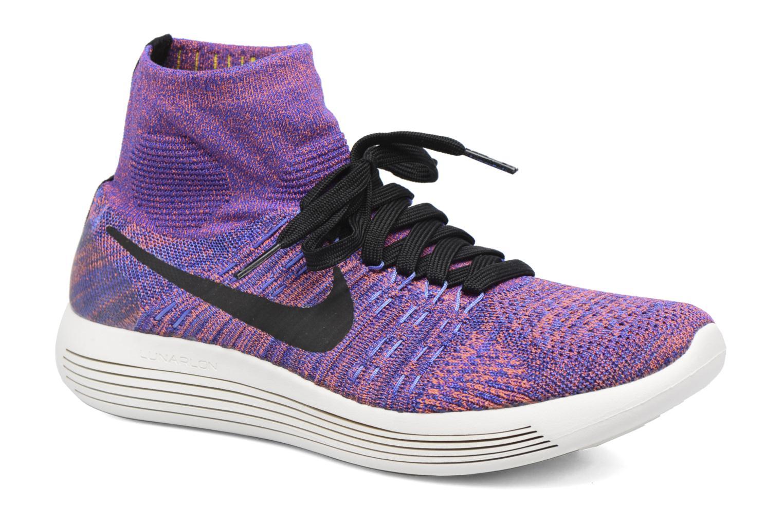 Sportschuhe Nike Nike Lunarepic Flyknit blau detaillierte ansicht/modell