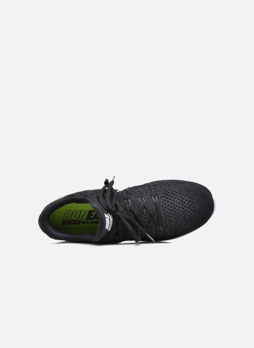 Chaussures de sport Nike Nike Lunarepic Low Flyknit 2 Noir vue gauche