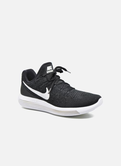 59567cd86ca5b Sport shoes Nike Nike Lunarepic Low Flyknit 2 Black detailed view  Pair view