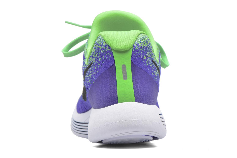 Chaussures de sport Nike Nike Lunarepic Low Flyknit 2 Vert vue droite