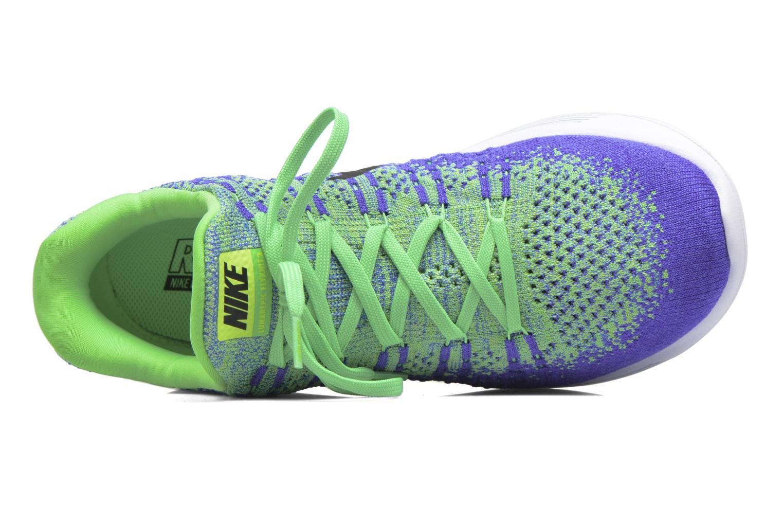 Chaussures de sport Nike Nike Lunarepic Low Flyknit 2 Vert vue gauche