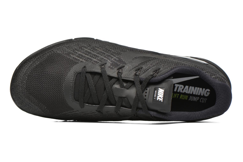 Sportssko Nike Nike Metcon 3 Sort se fra venstre