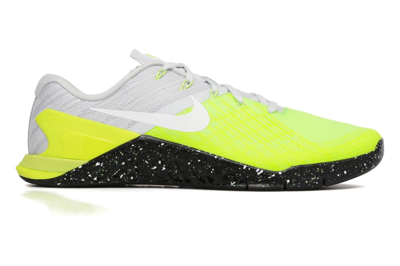 Sportschoenen Nike Nike Metcon 3 Geel achterkant