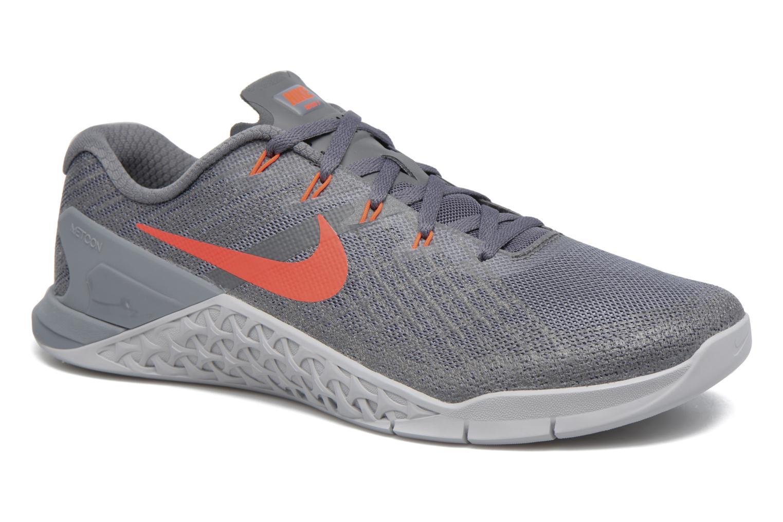 Chaussures de sport Nike Nike Metcon 3 Orange vue détail/paire