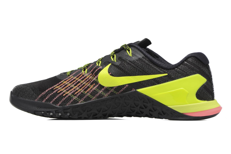 Zapatillas de deporte Nike Nike Metcon 3 Negro vista de frente