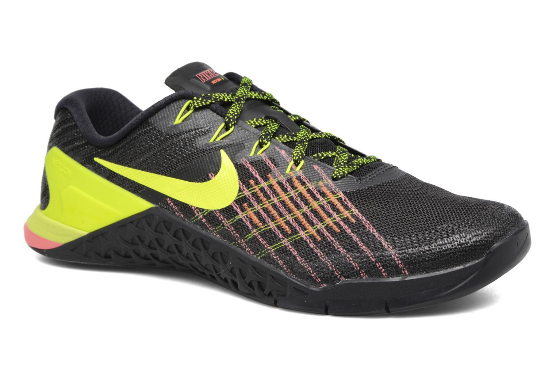 Zapatillas de deporte Nike Nike Metcon 3 Negro vista de detalle / par