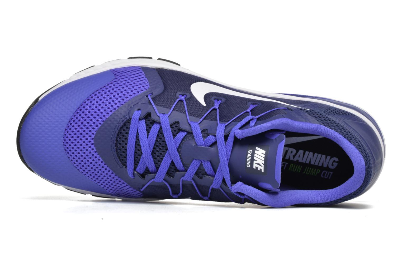 Sportschuhe Nike Nike Zoom Train Complete blau ansicht von links