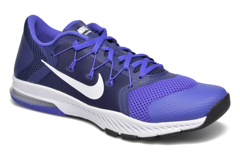 Sportschuhe Nike Nike Zoom Train Complete blau detaillierte ansicht/modell
