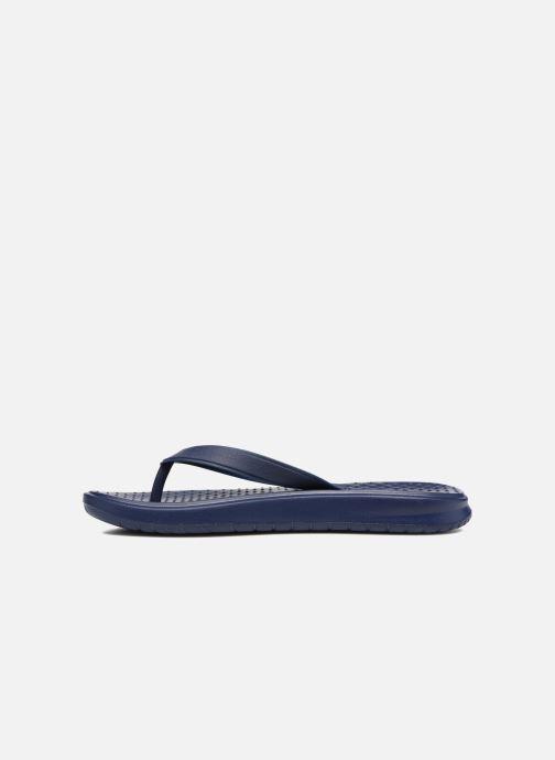 Tongs Nike Solay Thong Bleu vue face