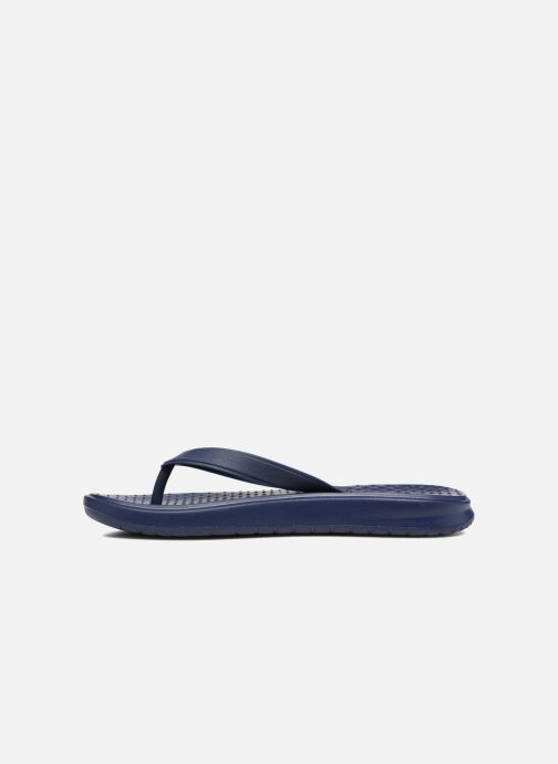 Chanclas Nike Solay Thong Azul vista de frente