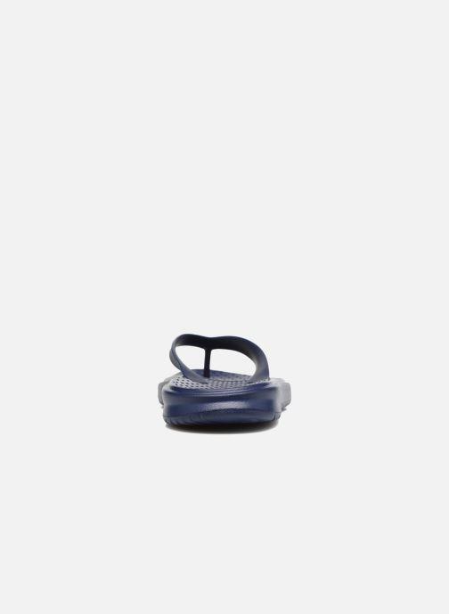 Chanclas Nike Solay Thong Azul vista lateral derecha