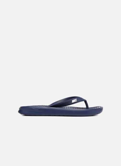 Flip flops Nike Solay Thong Blue back view