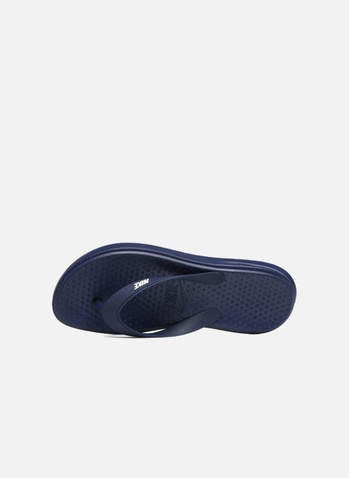 Flip flops Nike Solay Thong Blue view from the left