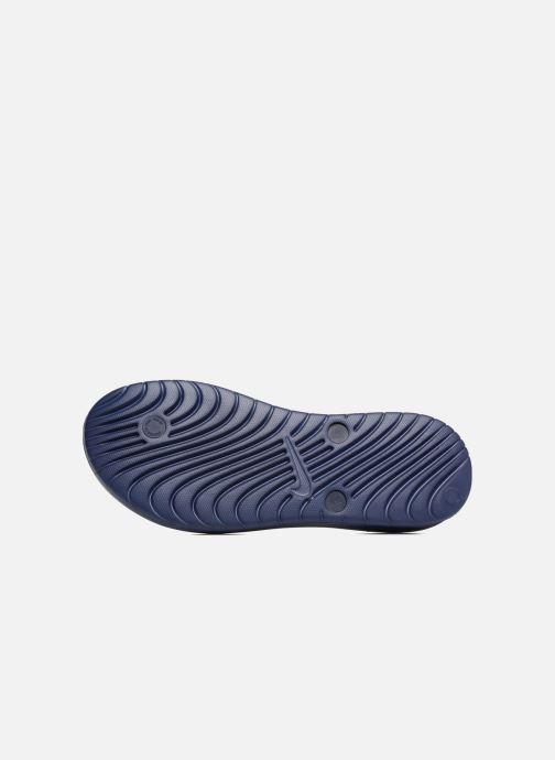 Chanclas Nike Solay Thong Azul vista de arriba