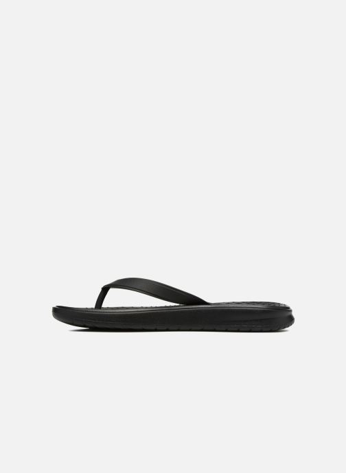 Chanclas Nike Solay Thong Negro vista de frente