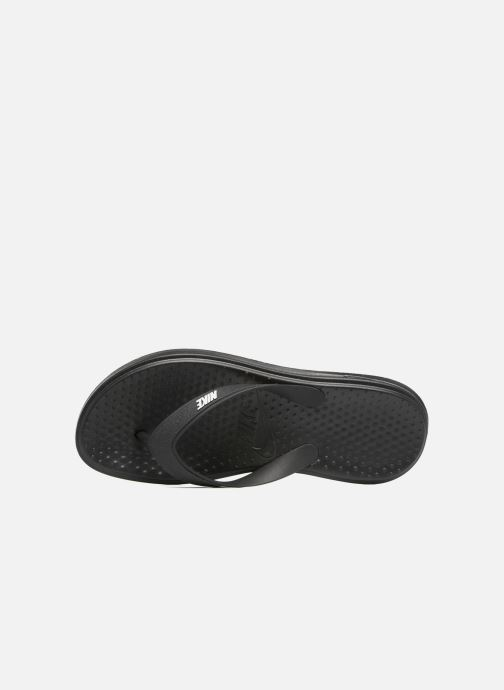 Chanclas Nike Solay Thong Negro vista lateral izquierda