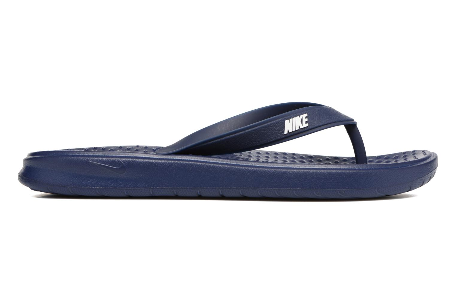 Slippers Nike Solay Thong Blauw achterkant