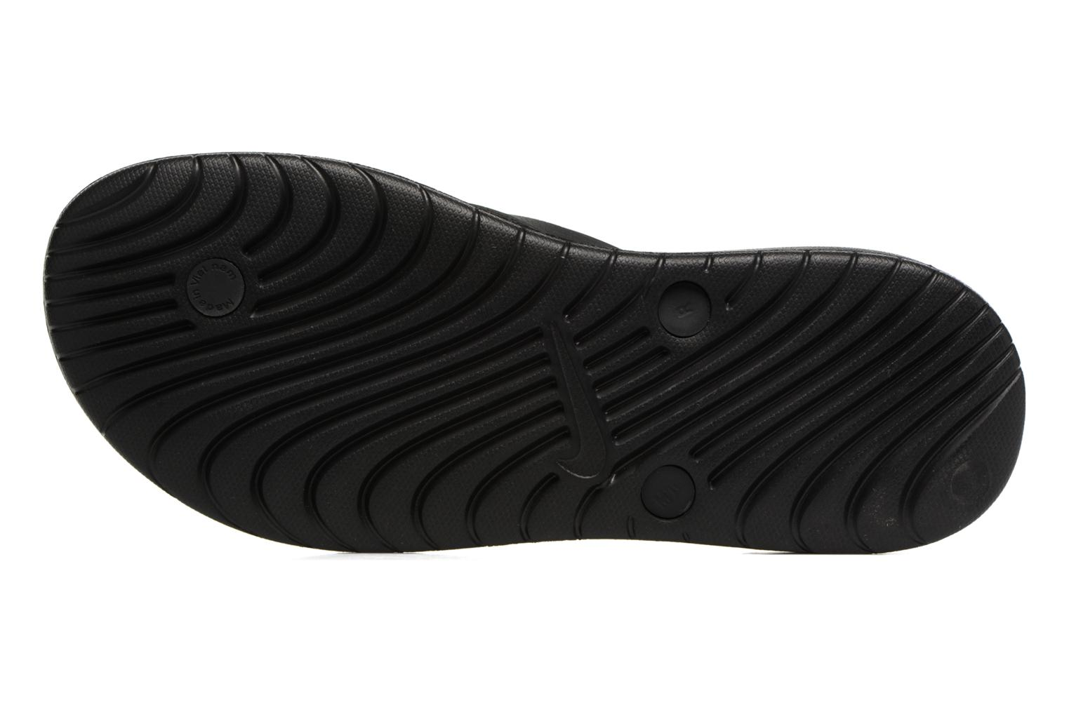 Flip flops Nike Solay Thong Black view from above