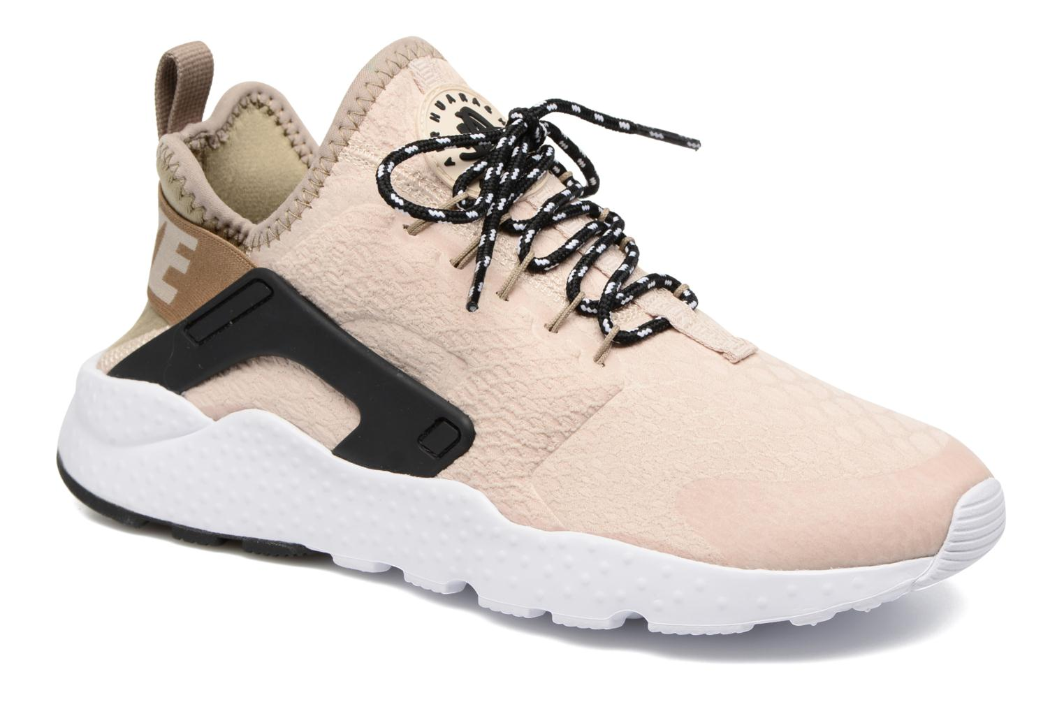 Baskets Nike W Air Huarache Run Ultra Se Beige vue détail/paire