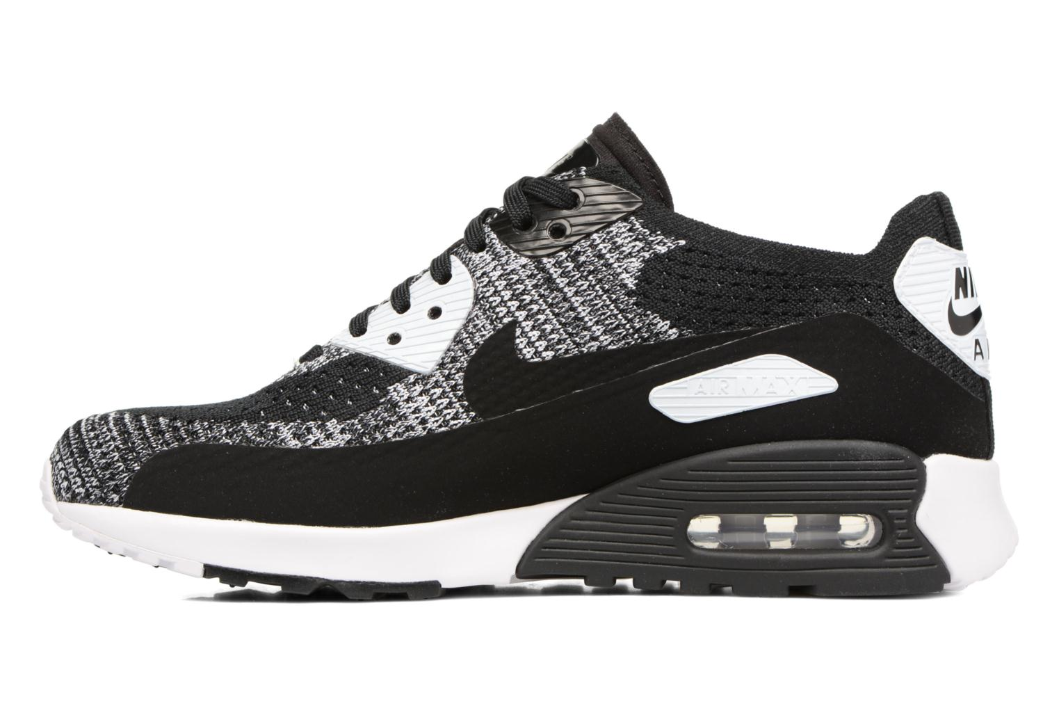 Sneakers Nike W Air Max 90 Ultra 2.0 Flyknit Nero immagine frontale