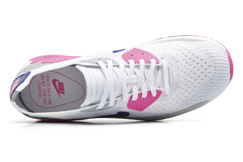 Baskets Nike W Air Max 90 Ultra 2.0 Flyknit Blanc vue gauche