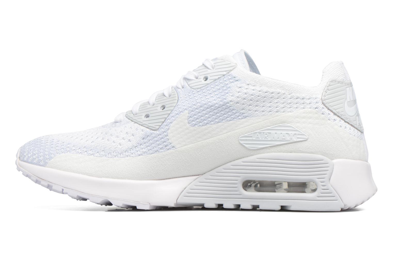 Sneaker Nike W Air Max 90 Ultra 2.0 Flyknit weiß ansicht von vorne