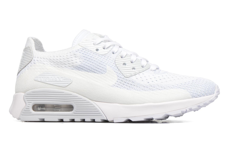 Sneakers Nike W Air Max 90 Ultra 2.0 Flyknit Hvid se bagfra
