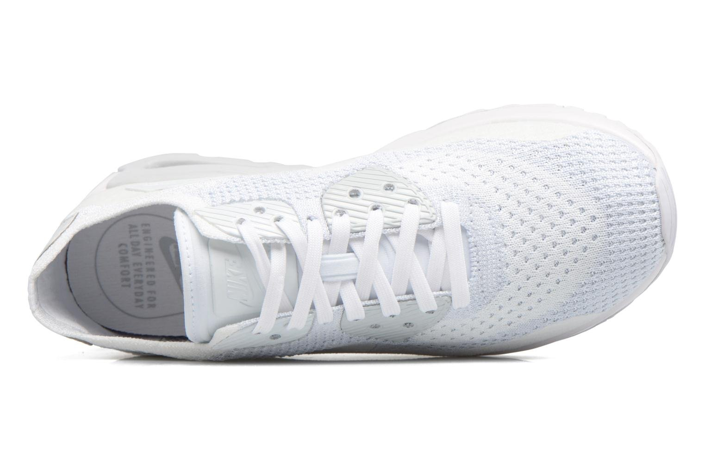 Sneakers Nike W Air Max 90 Ultra 2.0 Flyknit Hvid se fra venstre