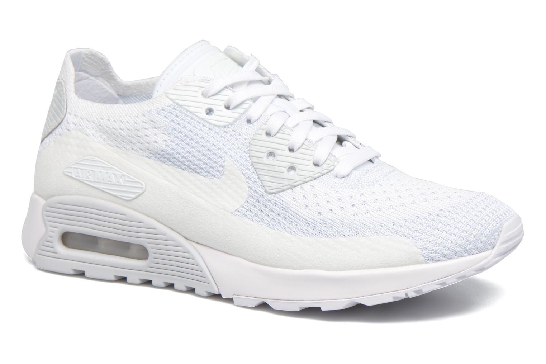 Nuevo zapatos Nike W 2.0 Air Max 90 Ultra 2.0 W Flyknit (Blanco) - Deportivas en Más cómodo a53094