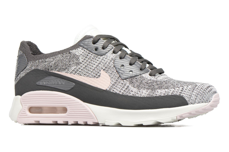 Sneaker Nike W Air Max 90 Ultra 2.0 Flyknit grau ansicht von hinten